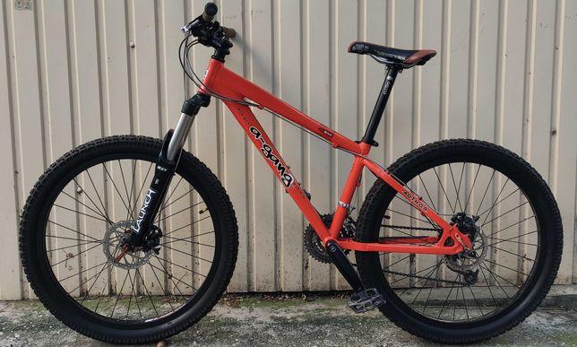 Мощный экстрим велосипед AUTHOR A-Gang 6mm (Чехия) в идеальном сост.!