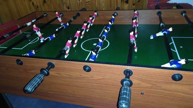 Stół do gry piłkarzyki 5 w 1