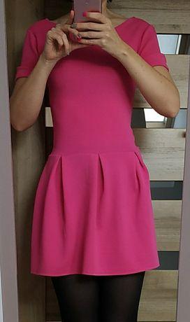 Sukienka różowa rozm s