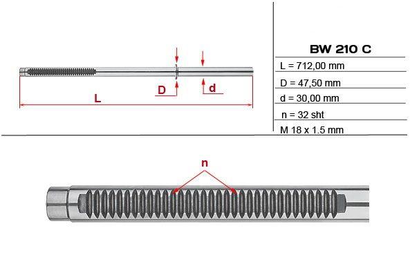 Listwa zębata przekładni kierowniczej Bmw X5 (E53)
