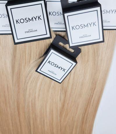 Włosy rosyjskie słowiańskie TAPE ON |45cm - 50G| KOSMYK PREMIUM