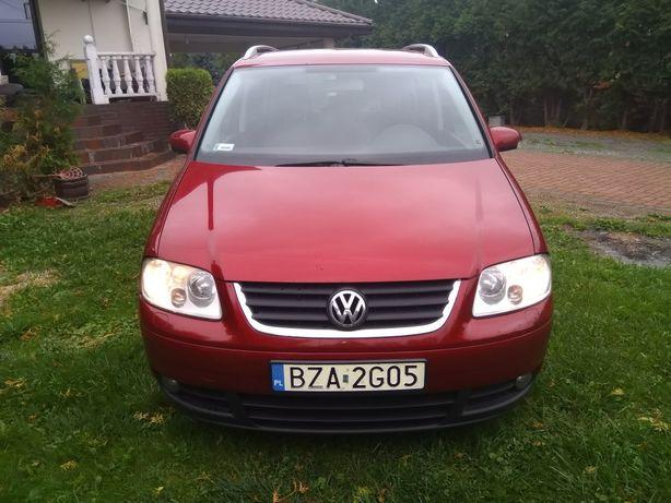 Volkswagen Touran 7 osobowy 2005r 2.0TDI DSG klimatyzacja