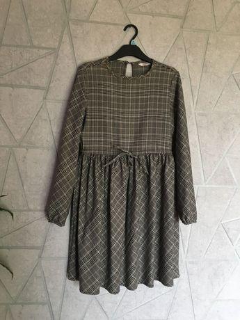 Sukienka w kratę clockohouse rozm 36