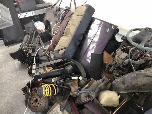 Material vw golf mk1 cabrio para venda