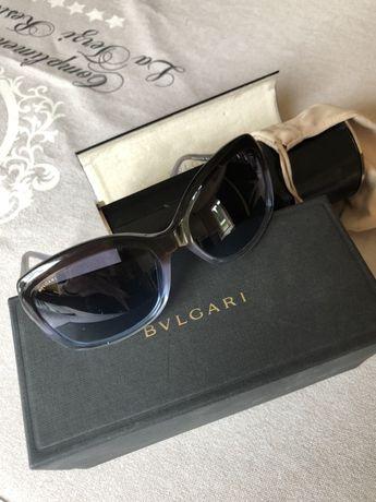 Bvlgari oryg okulary przeciwsłoneczne z etui certyfikat