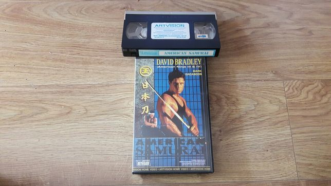 VHS Amerykański Samuraj