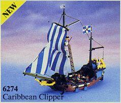 Lego System Piraci 6274 Caribbean Clipper