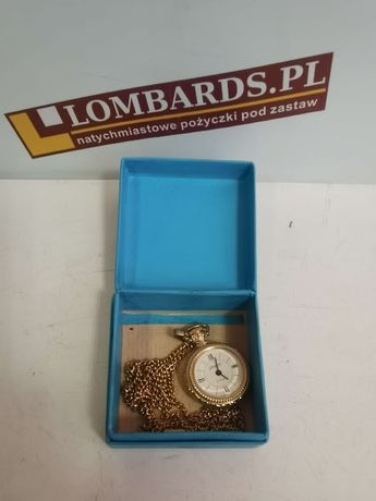 Zegarek kieszonkowy Glashutte 17 Rubis Made in DDR