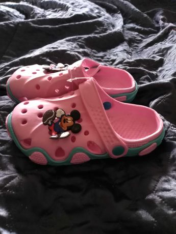Klapki, buty dla dzieci, buty dla dziewczynki, rozmiar 30.