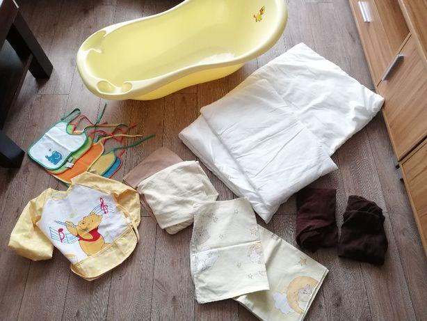 pościel niemowlęca ,wypełnienie , wanienka+ INNE