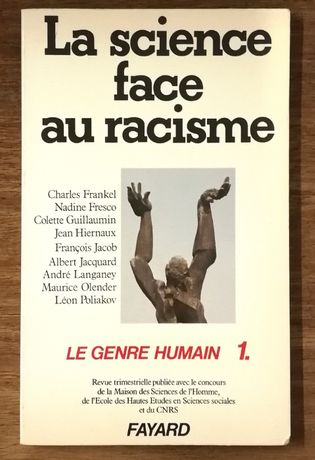 la science face au racisme, le genre humain, fayard