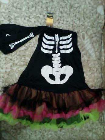 Платье на Хеллоуин новое размер S-M, L-XL