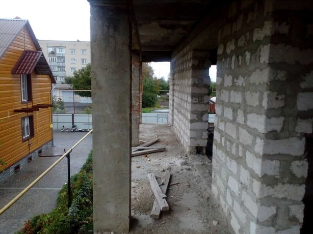 Продам дом на этапе строительства г.Подольск (Котовск) Одесская обл.