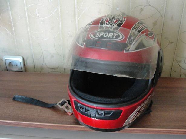 Шлем мото.