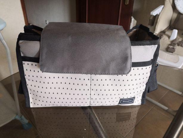Organizador para carrinho de bebe