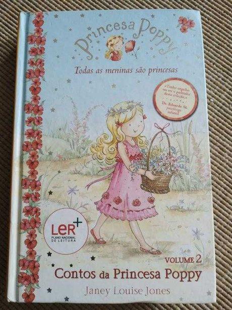 Livro Contos da Princesa Poppy (Capa Dura) - Plano Nacional da Leitura