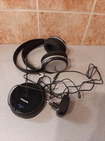 Słuchawki Philips bezprzewodowe radiowe