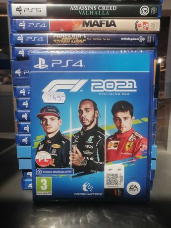 Gra F1 2021 PS4 PL/ Nowa/ Folia/ Sklep/ Poznań