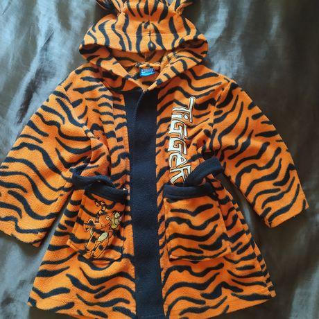 Детский халат тигр.