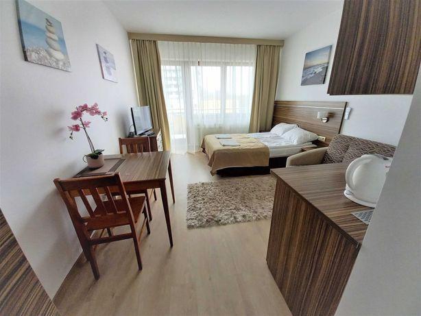 Apartament Kołobrzeg Arka Medical SPA przy plaży aneks kuchenny