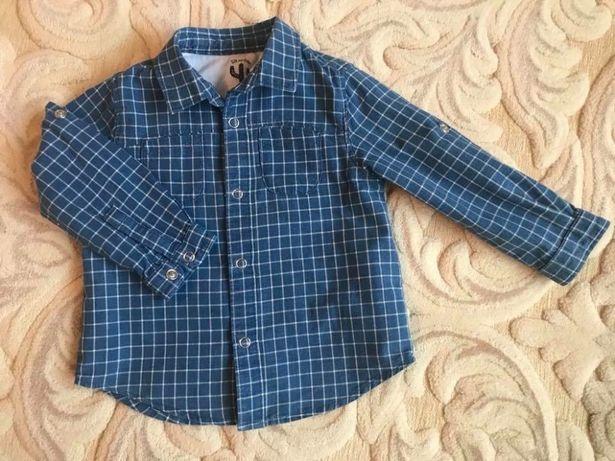Zara сорочечка, сорочка, рубашка 12-18 86 cm багато одягу
