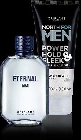 Woda męska Enternal Men + gratis żel Oriflame