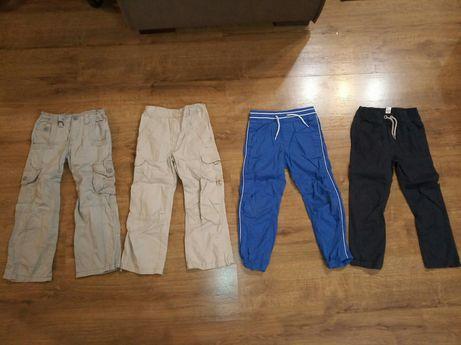 Spodnie, spodenki chłopięce h&m, rebel 116