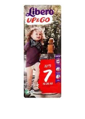 Памперсы Libero 7 32шт (16-26кг) (подгузники-трусики) 1 упаковка