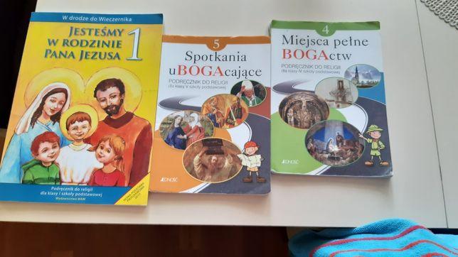 Sprzedam książki do religii