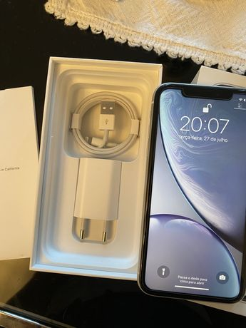 Iphone XR impecável, fatura, branco