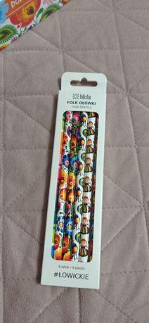 Folkowe ołówki do szkoły