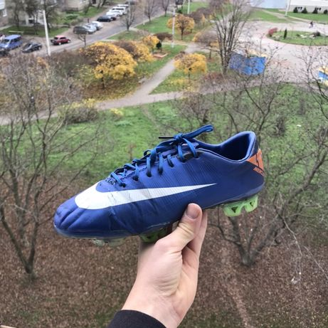 Бутсы Nike Mercurial 2010, made in italy