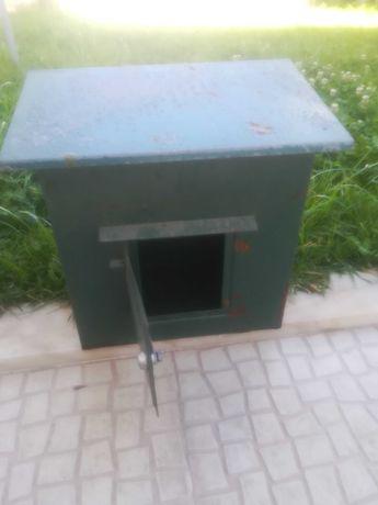 Caixa correio em ferro