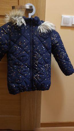 Kurteczka zimowa 116 , H&M, dziewczynka, zima
