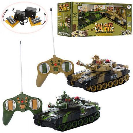 Танковый бой на радиоуправлении 9993 War Tank (2 танка 27 см) Подробне