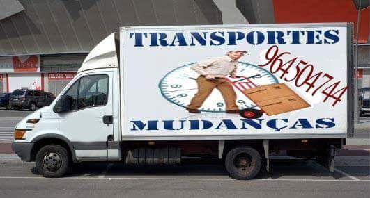 Mudanças e transportes