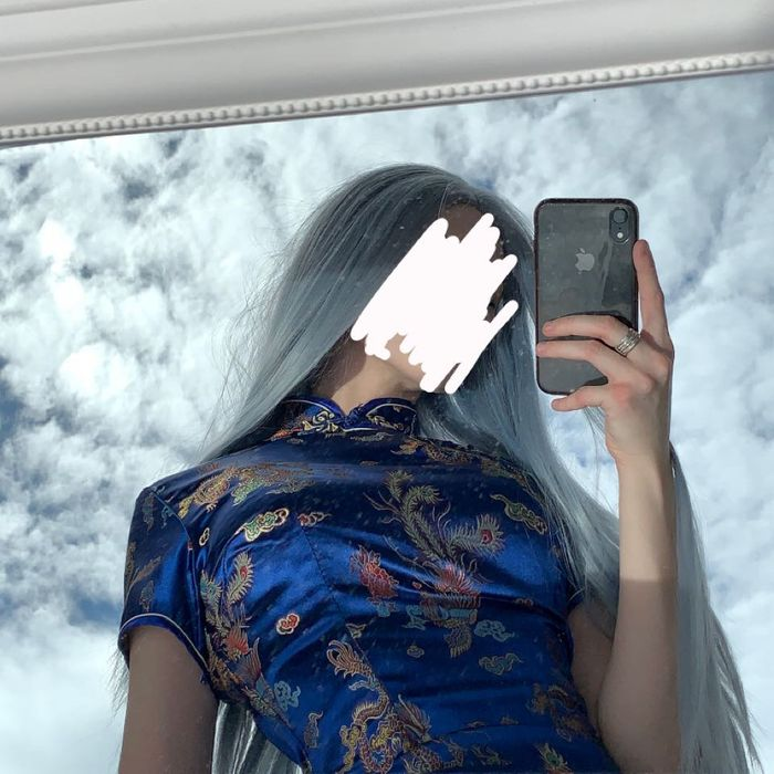 Peruka Wig Lace Front Niebieska Świerklaniec - image 1