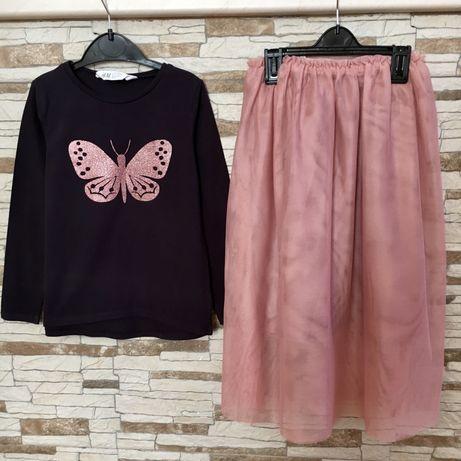 Реглан и фатиновая юбка H&M
