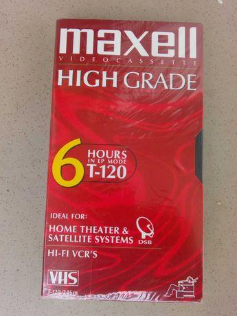 Kaseta VHS Maxell 120h Tanio!!