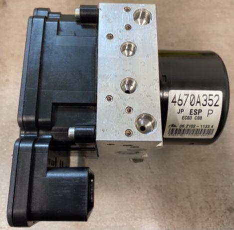 Naprawa sterownika pompy ABS ESP Mitsubishi Lancer 4670A352