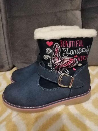 Nowe ocieplone buty zimowe
