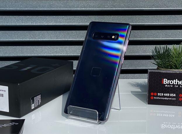 Samsung S10 Plus Prism Black 128GB Desbloqueado Novo