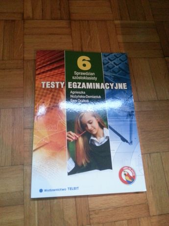 Testy egzaminacyjne sprawdzian szóstoklasisty 6 klasa TELBIT