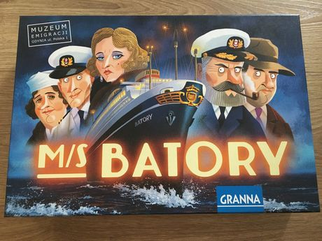 Gra planszowa MS Batory