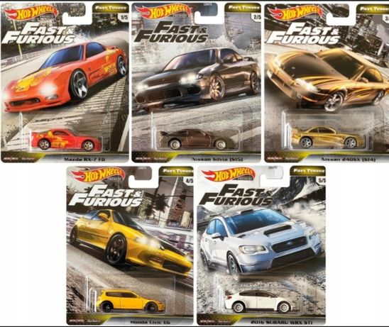 Hot Wheels Fast and furious fast tuners