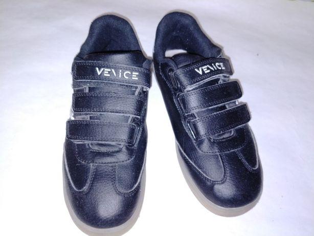 Кожанные кроссовки Venice