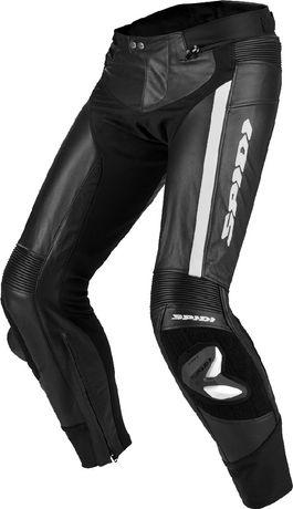 SPIDI RR PRO r.48 motocyklowe spodnie skórzane męskie - nowe
