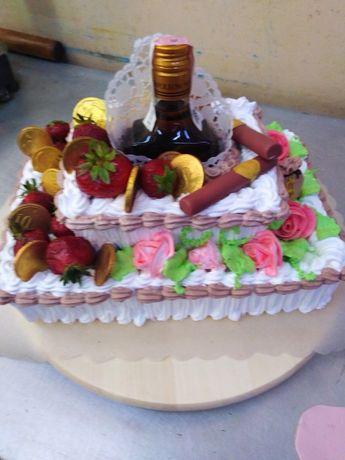 Торты, караваи, дывни, пирожки