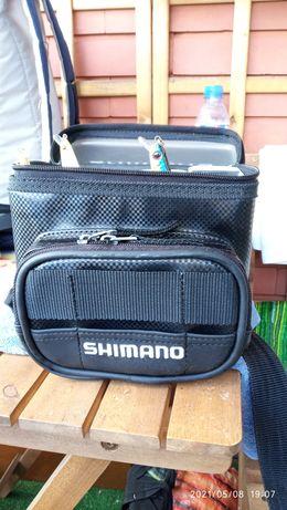 Vendo bolsa Shimano para spinning