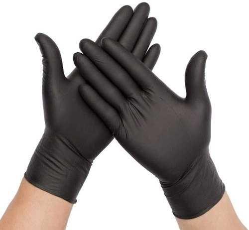 czarne rękawiczki nitrylowe, bardzo mocne, grube nitryle, VAT 8%,